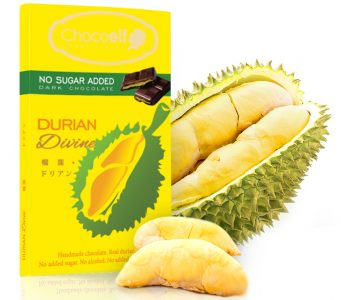 Chocoelf Durian chocolate bar