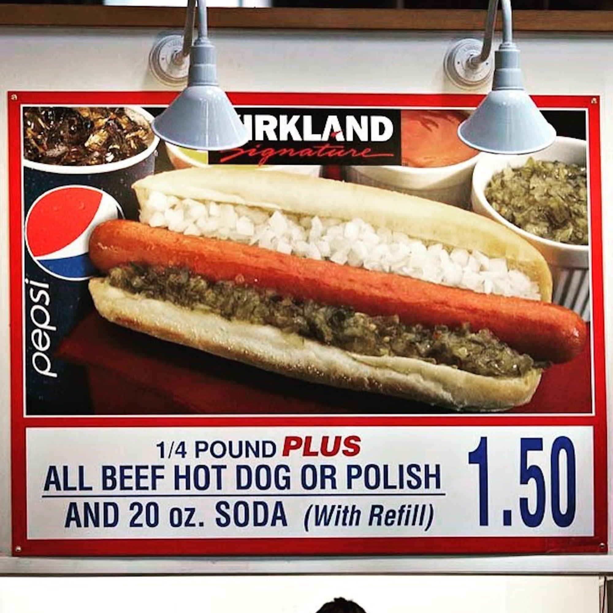 RIP Costco Polish Hot Dog