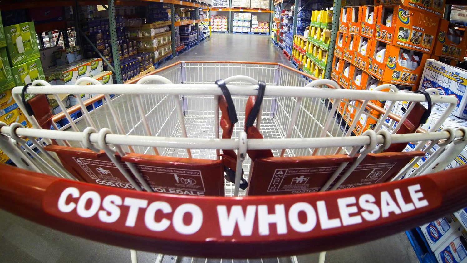 The Costco Shopping Cart is Waiting