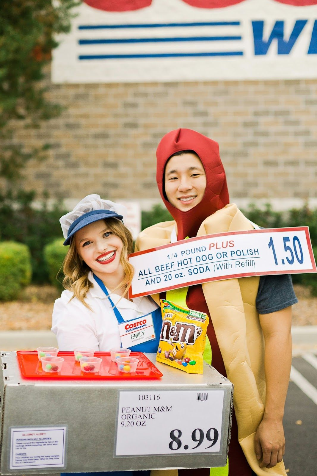 Costco Hot Dog Halloween Costume