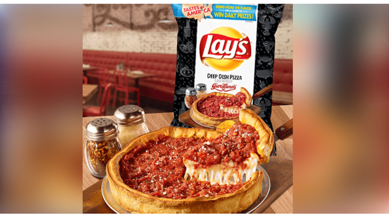 Lay's Deep Dish Pizza Flavor Inspired By Giordano's