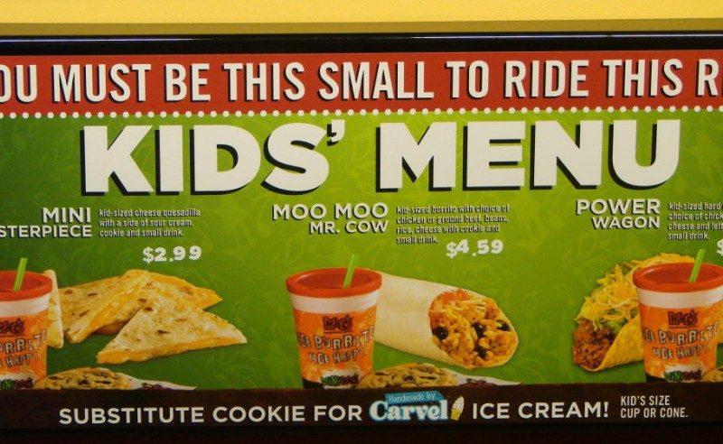 Moe's Southwest Grill's Moo Moo Mr. Cow