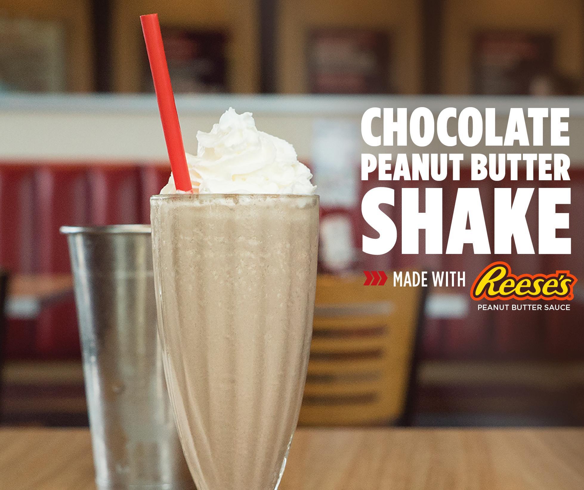 Smashburger's Peanut Butter and Chocolate Shake