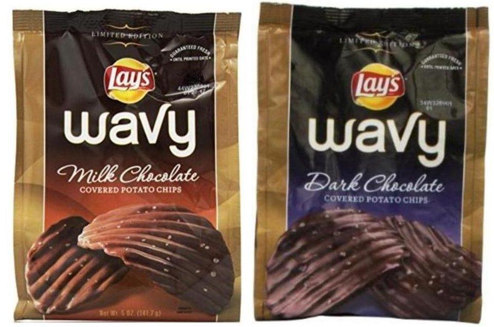 lays chocolate