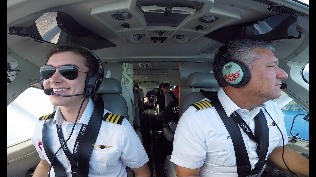 Pilots eat different food