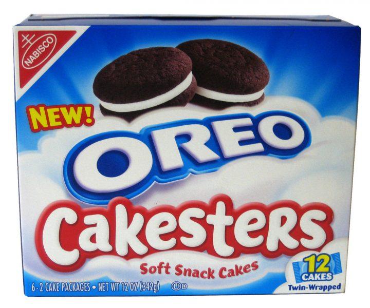 Oreo Cakesters box
