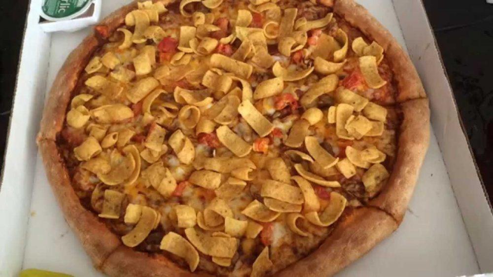 Papa John's Frito pizza