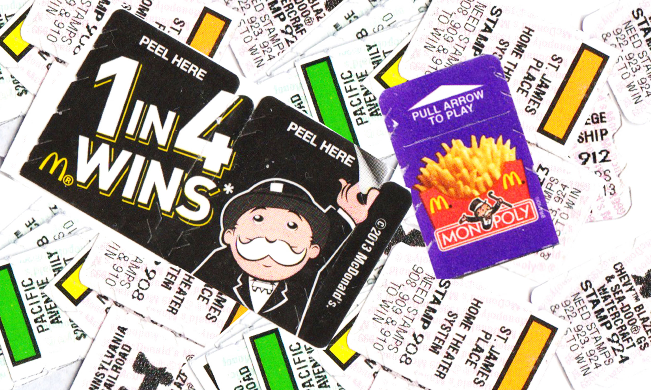 mcdonalds monopoly scam