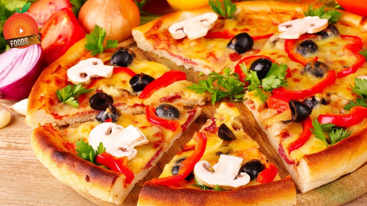 many veggies go well on pizza