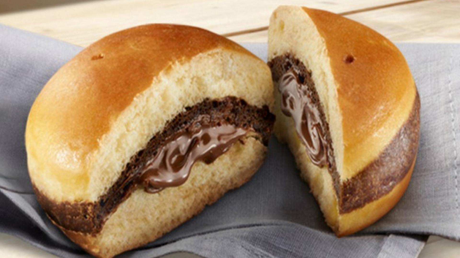 McDonald's Nutella Burger