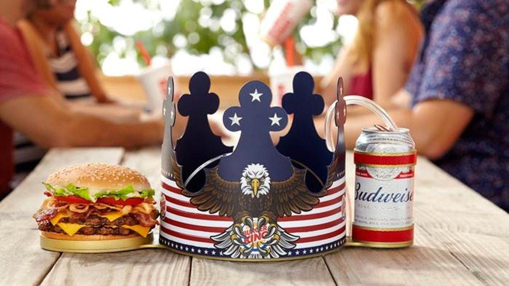 Burger King Freedom Crown