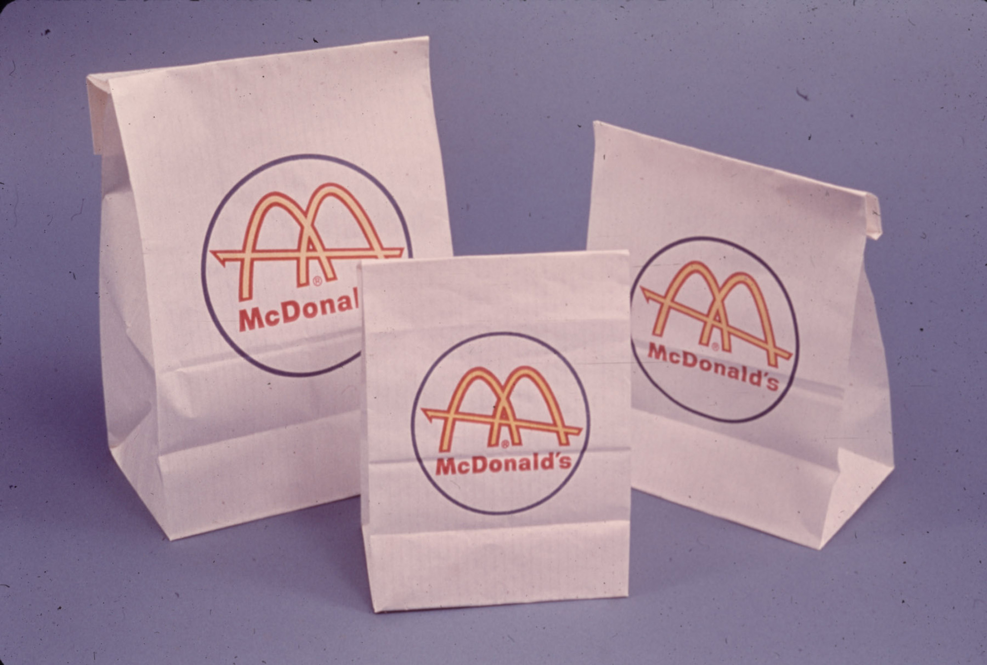 60s arches – McDonald's Packaging