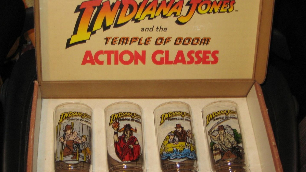 7-Up's Indiana Jones and The Temple of Doom Glasses