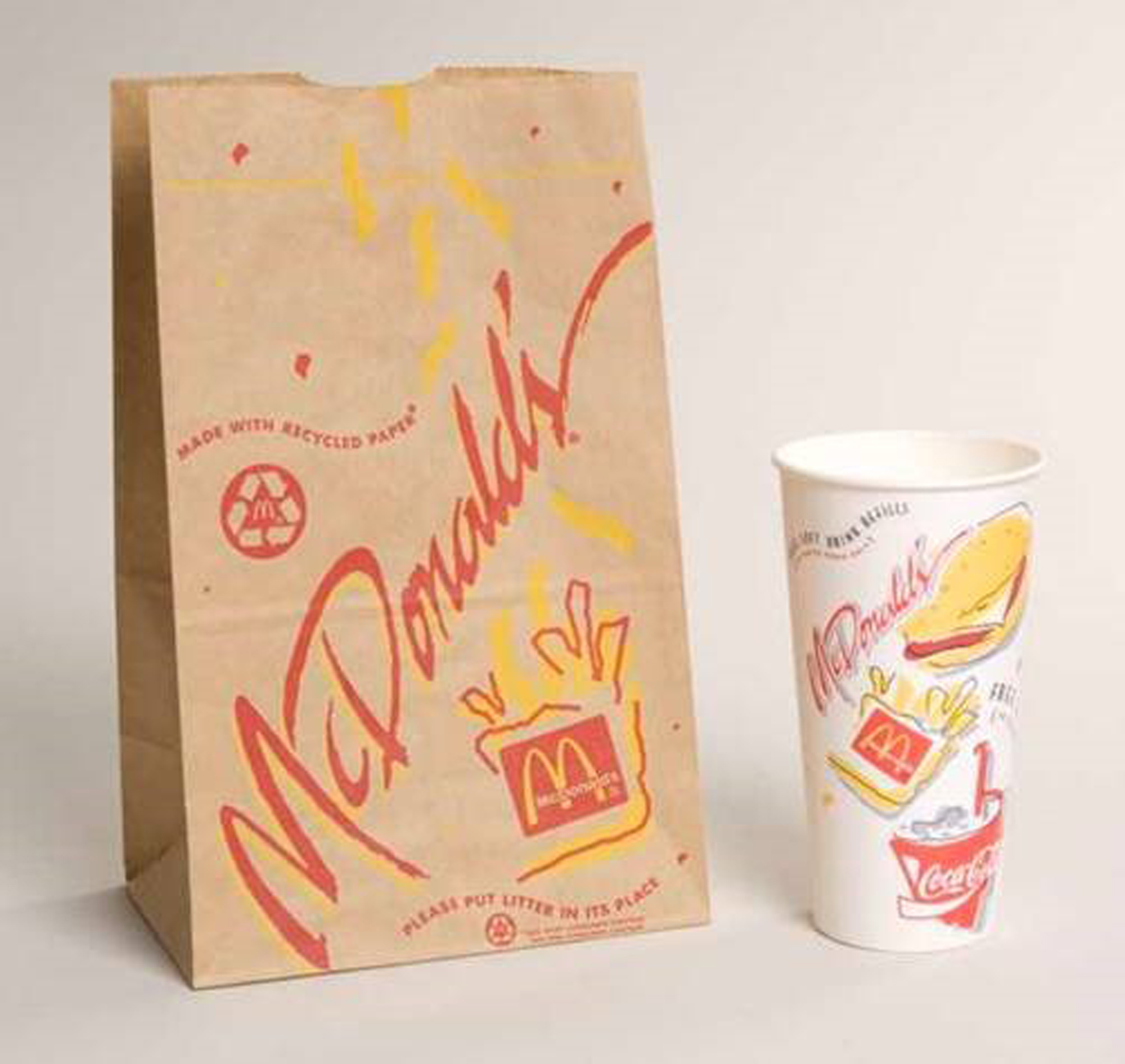 90s illustrated – McDonald's Packaging