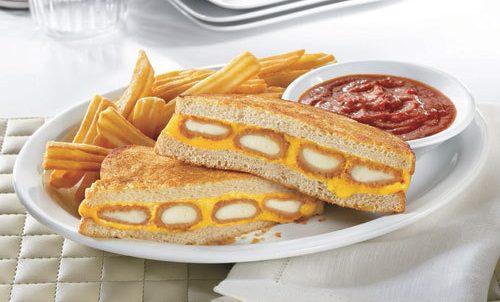 Denny's Mozzarella Stick Grilled Cheese