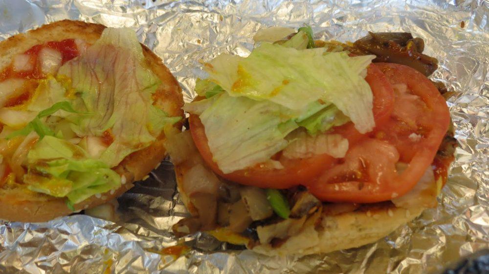 FiveGuys Veggie Burger