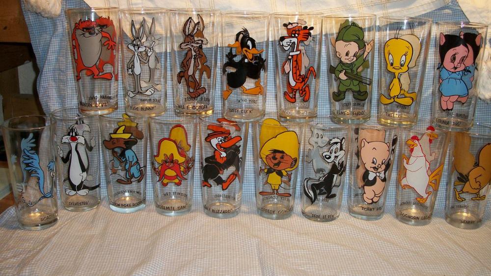 Hardee's Looney Tunes Glasses