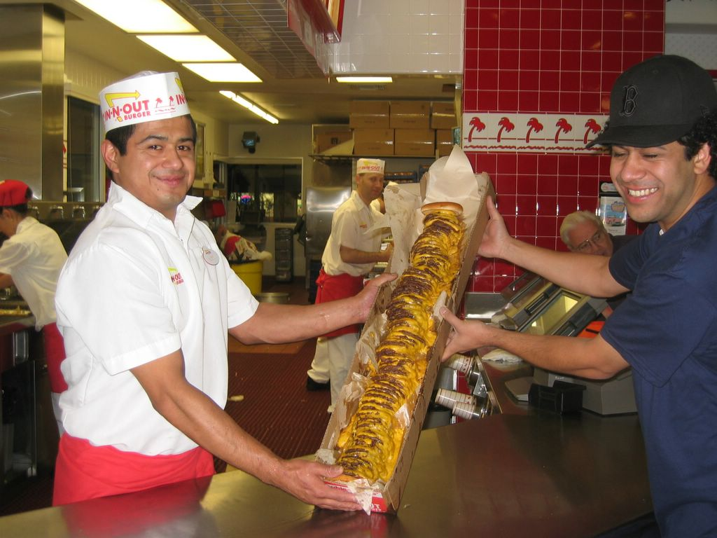 In-N-Out Burger – 100 x 100