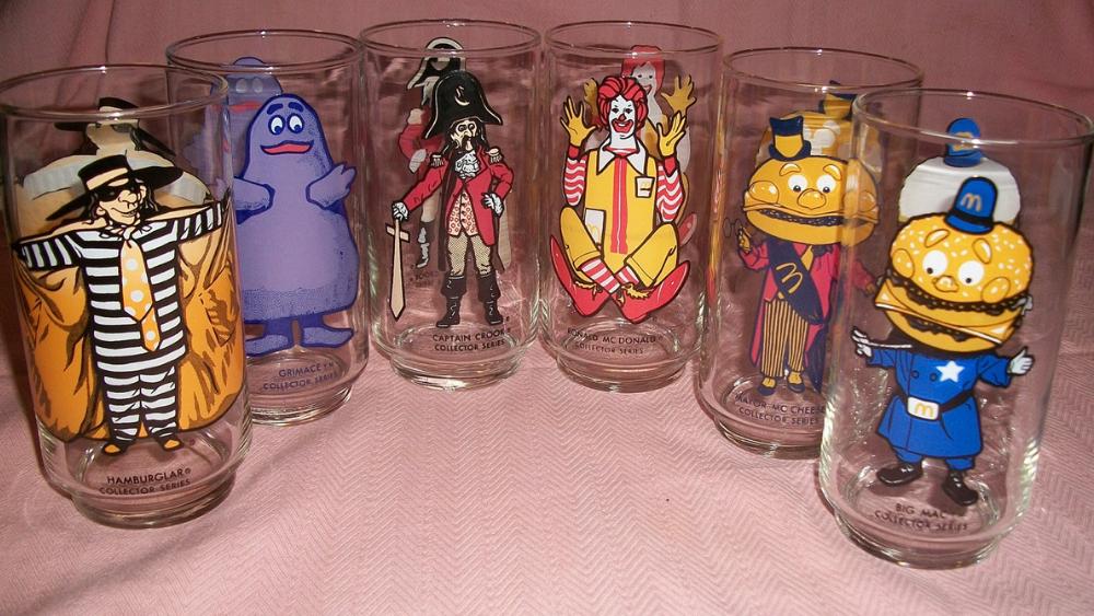 McDonald's Character Glasses
