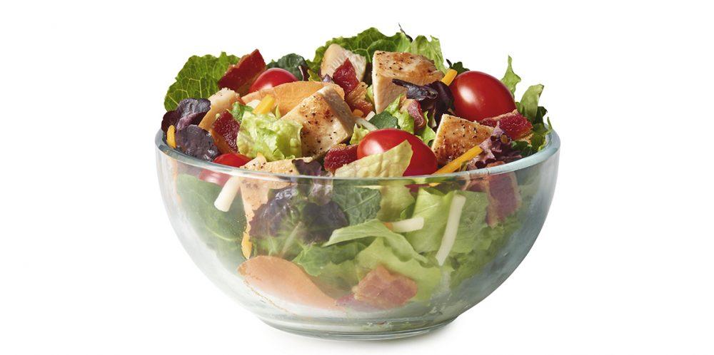 McDonald's bacon ranch chicken salad