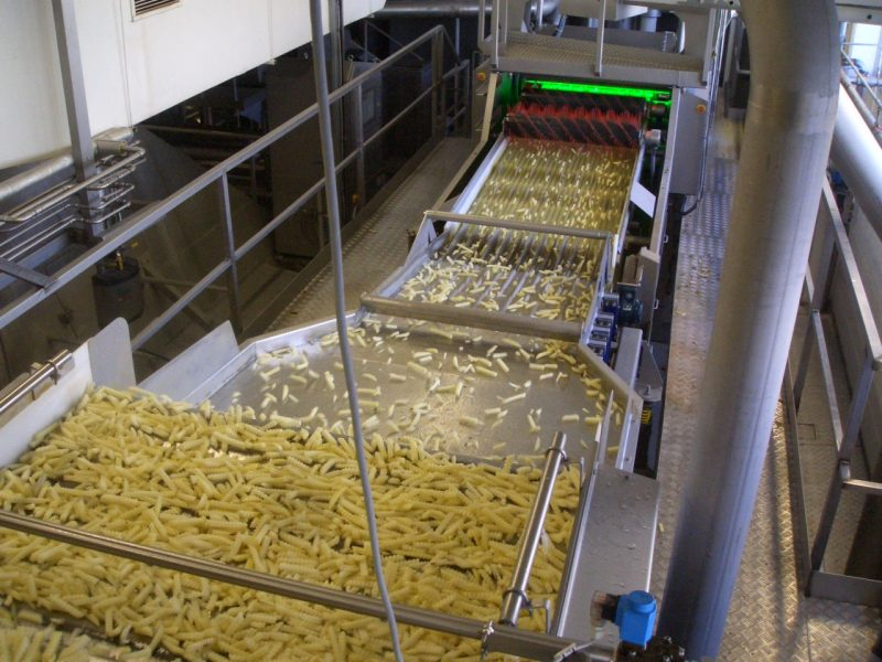 McDonald's Fries production process