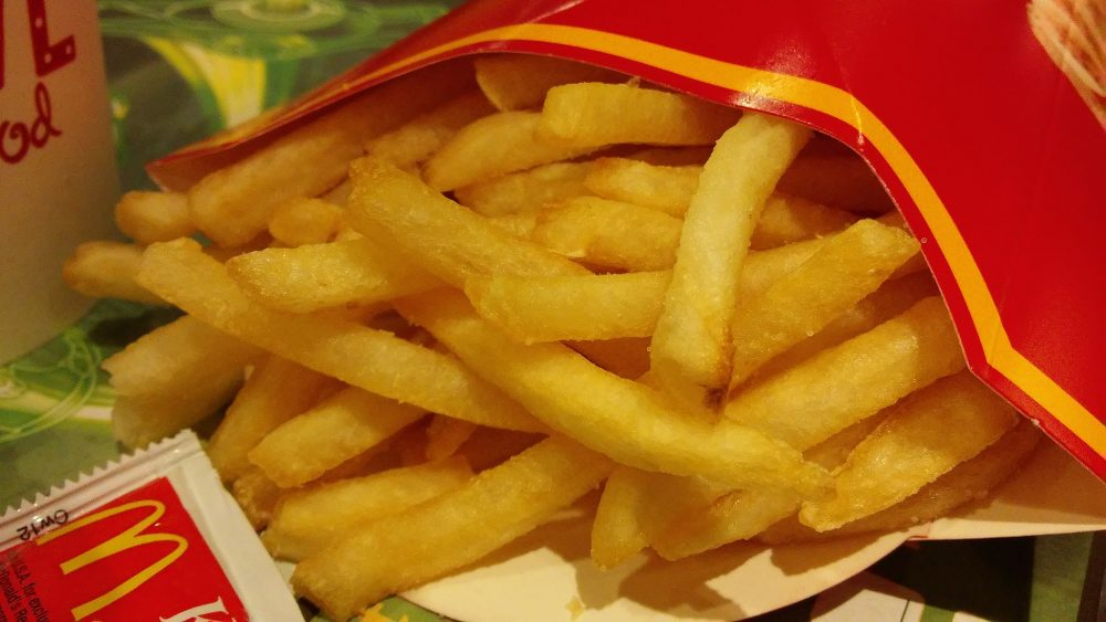 fresh McDonald's french fries