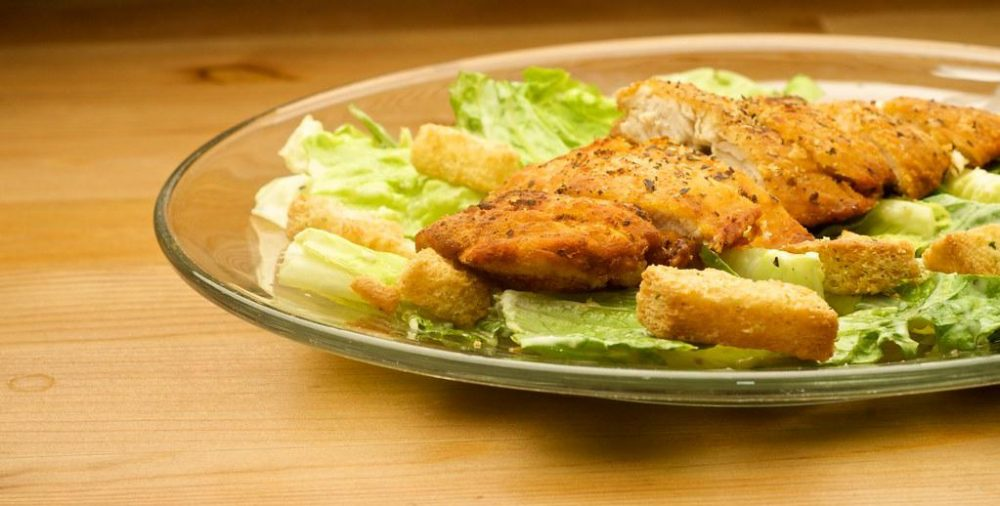 Chicken McNugget Caesar Salad