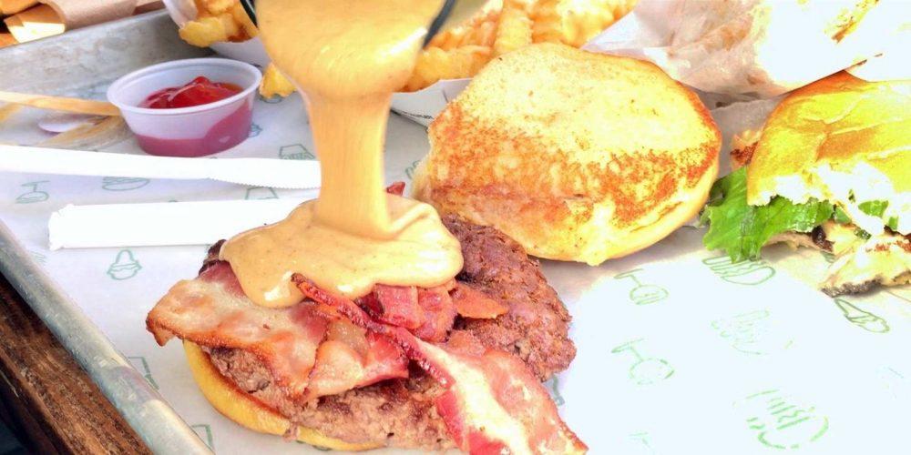 Shake Shack Peanut Butter Bacon Burger