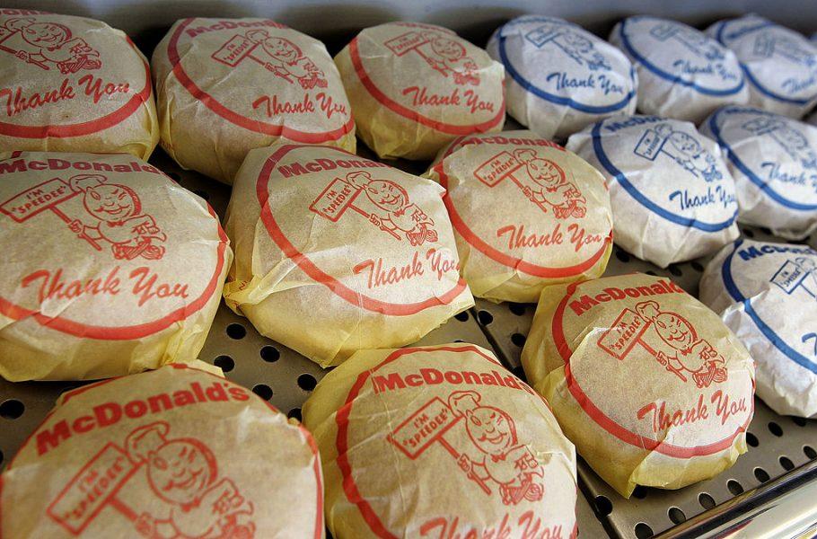 McDonald's Speedee Wrappers