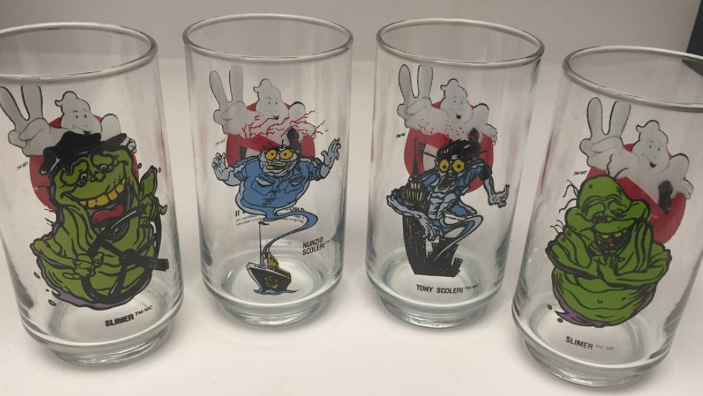 Sunoco's Ghostbusters 2 Glasses