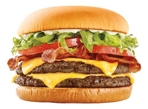 Super Sonic Bacon Double Cheeseburger