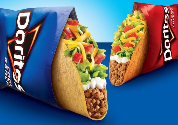 Taco Bell Doritos Locos Tacos & Doritos Locos Tacos Chips