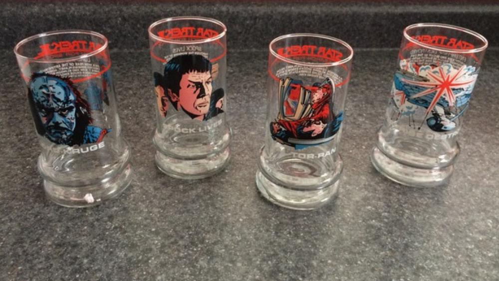 Taco Bell's Star Trek Glasses