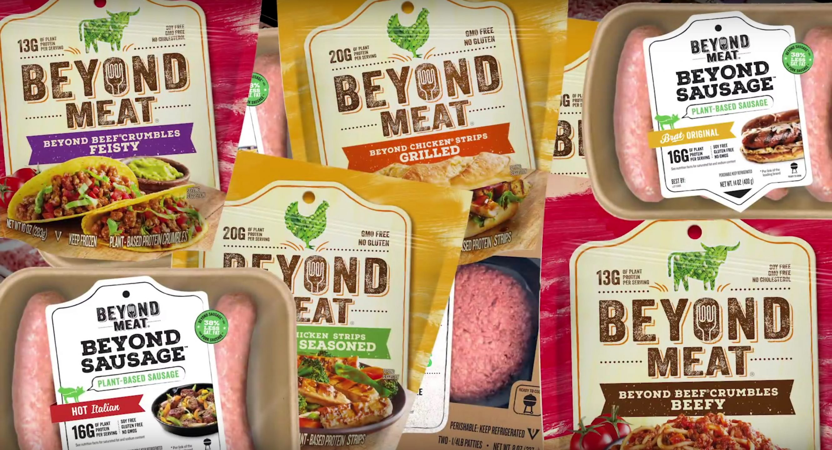 The Beyond Meat company