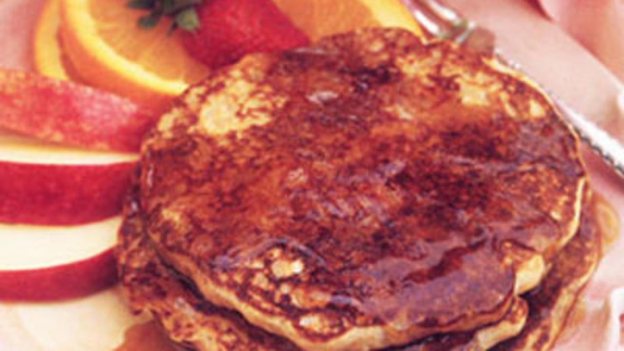 Upscale pancakes
