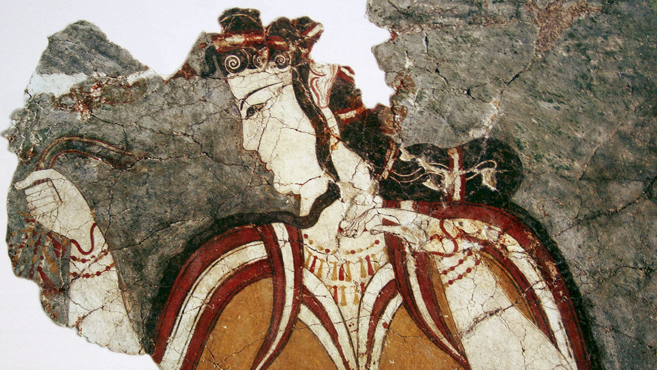 The Greeks invented pizza