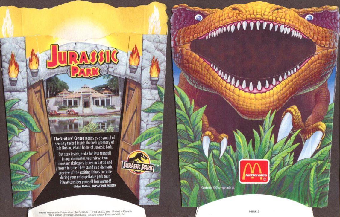 McDonald's dino-sized fries