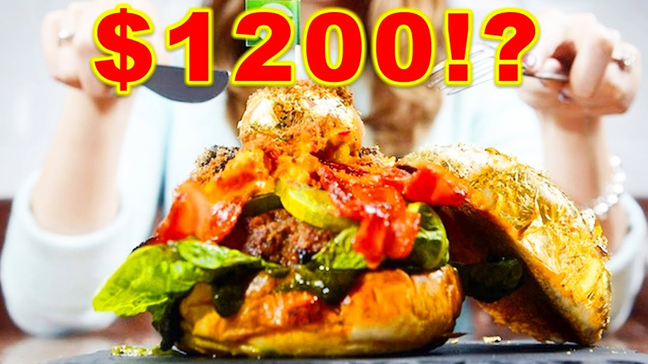 top 10 expensive fast foods