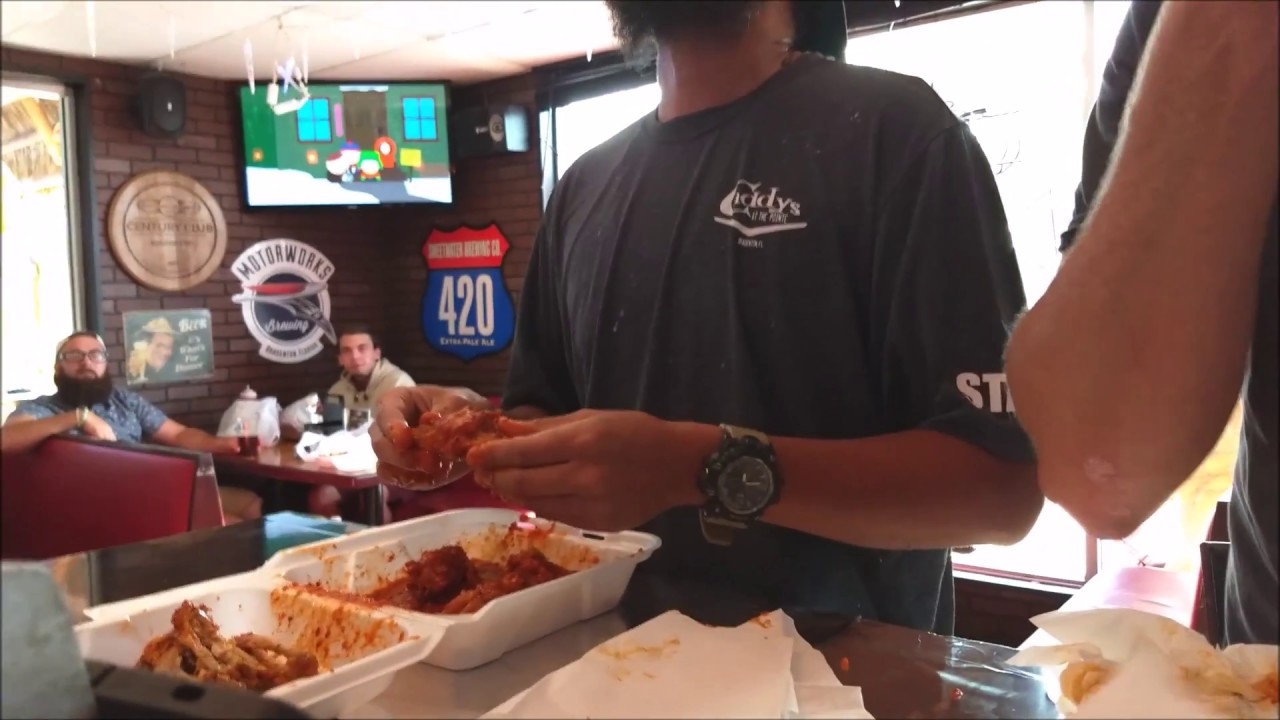 fire in your hole hot wing challenge