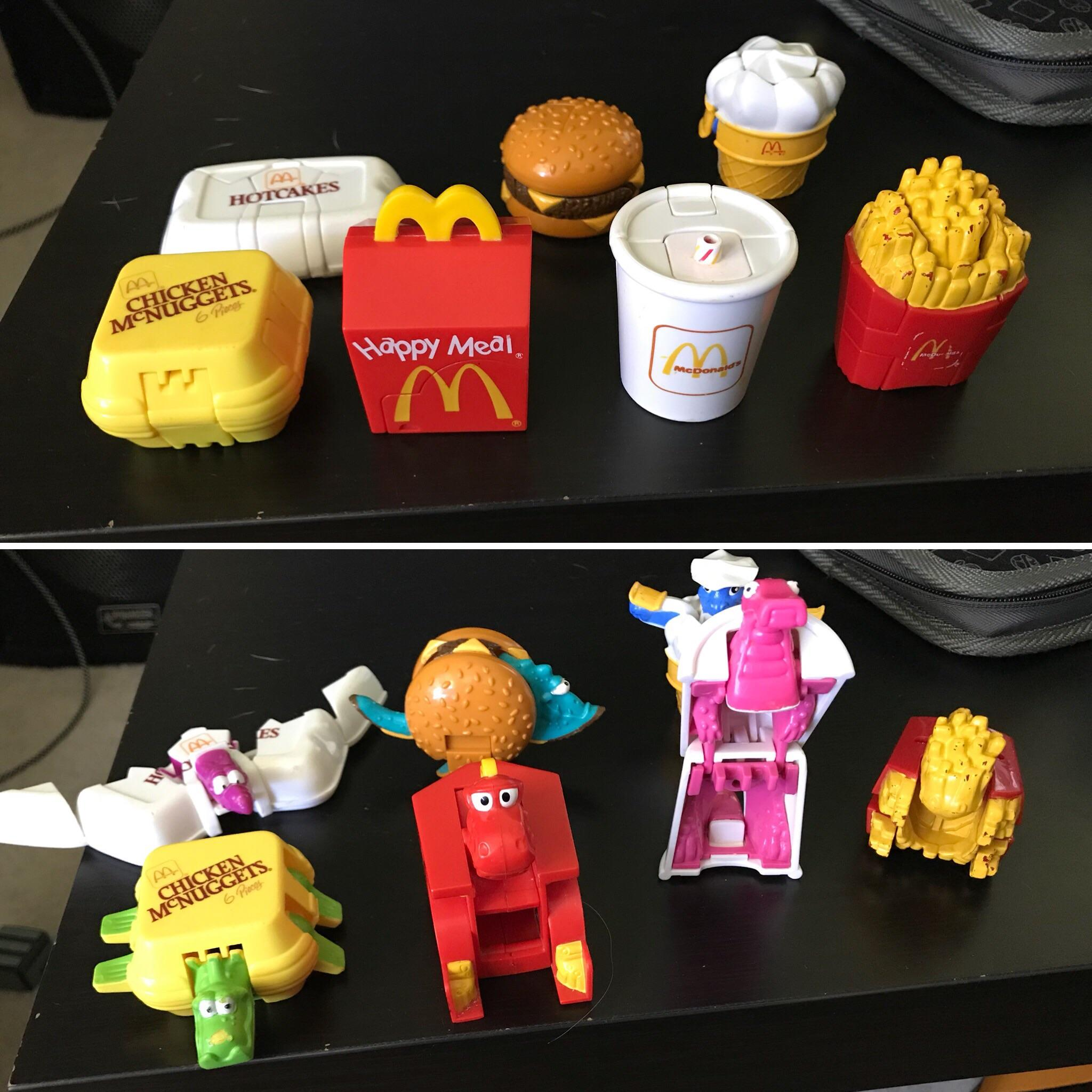 happy meal toys 90s