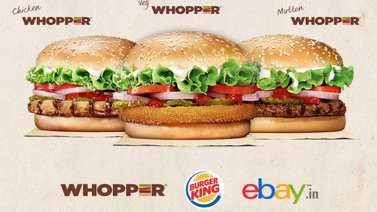 india whoppers