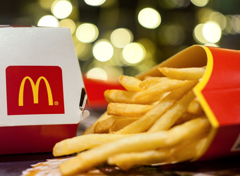 McDonalds french fries not vegetarian