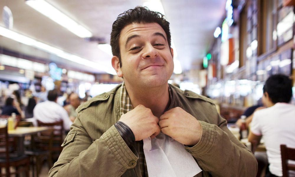 10 Times Adam Richman Demolished Food On Man v Food
