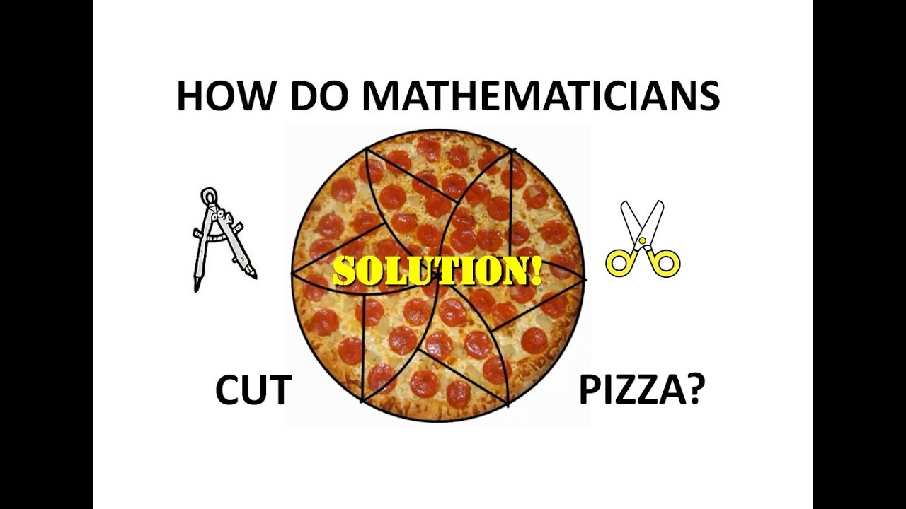 Pizza and math go together?