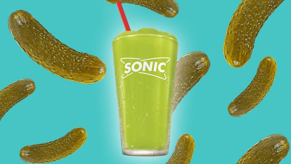 Sonic Drive In Pickle juice slush