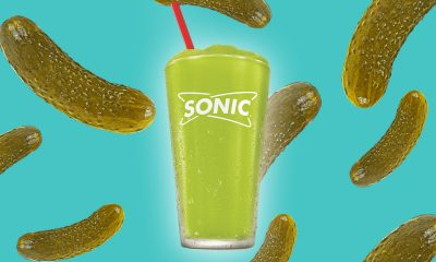 Sonic Drive In Pickle juice slush