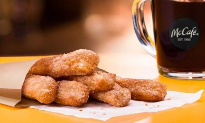 Donut Sticks with McCafé