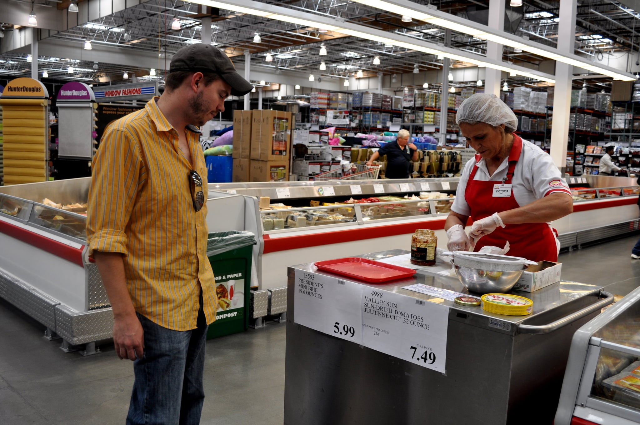 Costco Free Sample Workers