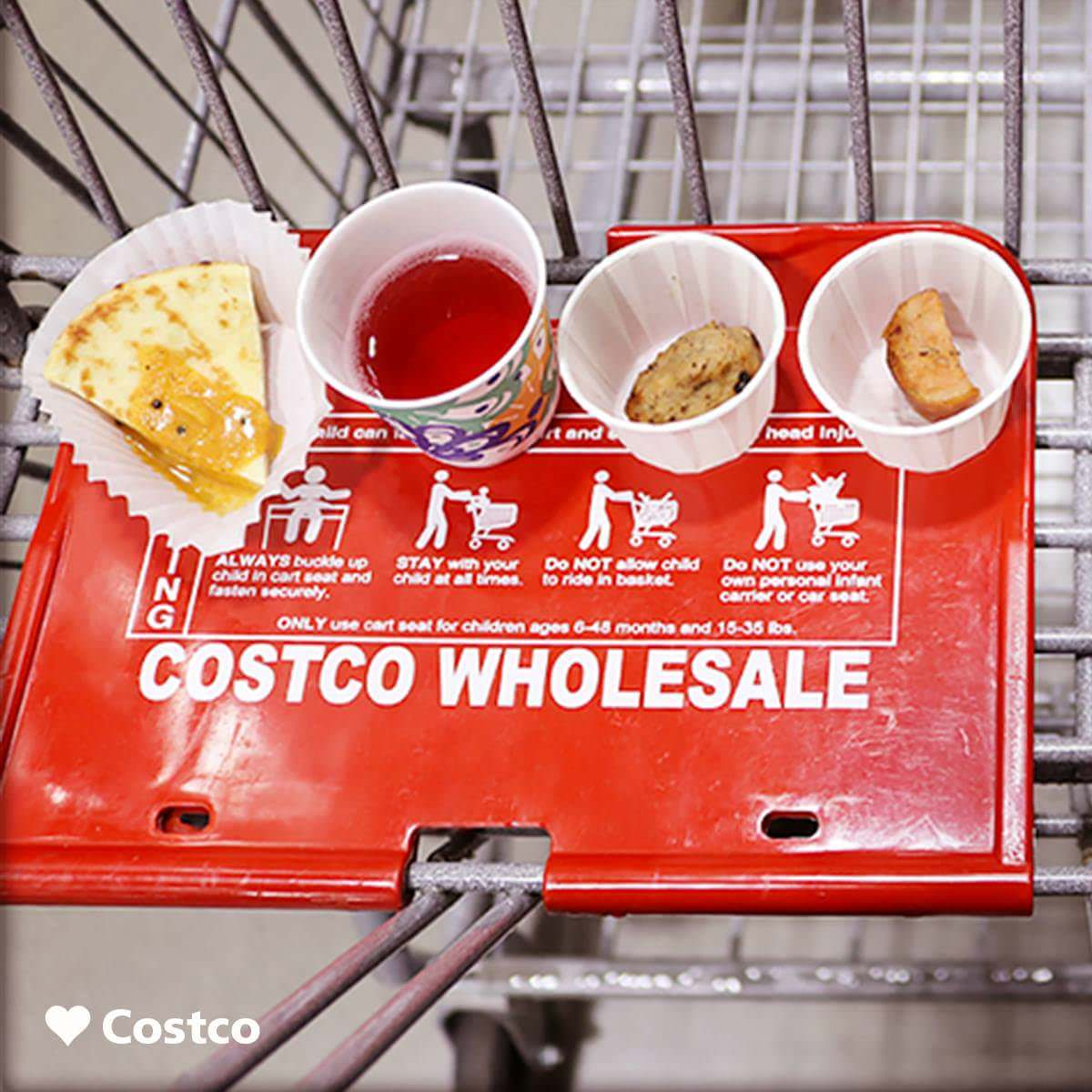 ideal time for Costco free samples