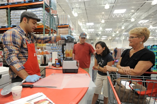 Free Sample employees are not Costco employees